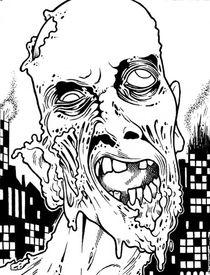 Zombie by laughingindio