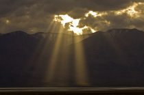 Sunbeam Sunset von Barbara Magnuson & Larry Kimball