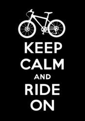 Keep-calm-ride-on-black