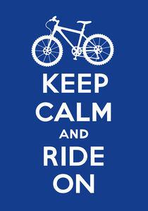 Keep-calm-ride-on-navy