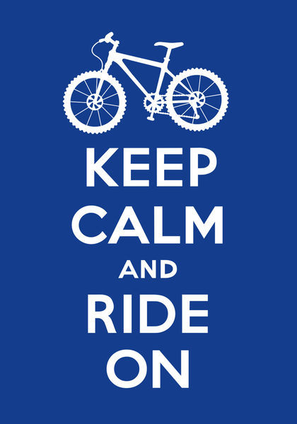 Keep-calm-ride-on-navy
