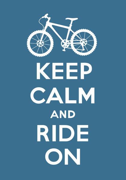 Keep-calm-ride-on-slate