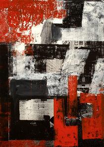 NY Rojo y Negro by Mario Corea