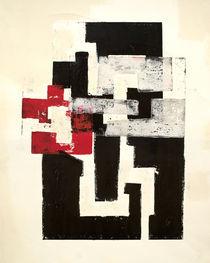 Rojo y Negro No 1 by Mario Corea