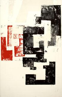 Rojo y Negro No 2 by Mario Corea