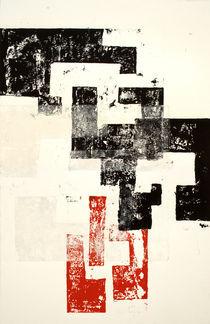 Rojo y Negro No 3 by Mario Corea