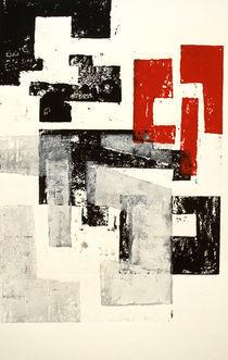 Rojo y Negro No 4 by Mario Corea