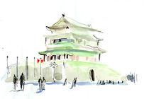 QianMen, Beijing by Pascal Hierholz