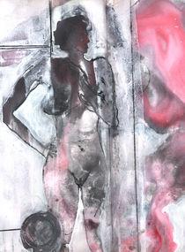 Akt mit viel Rosa by Edgar Piel