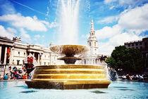 Trafalgar square by Giorgio Giussani