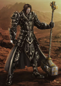 Warrior of Justice by Imperia Studio
