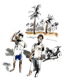 Lombok kids by Pascal Hierholz