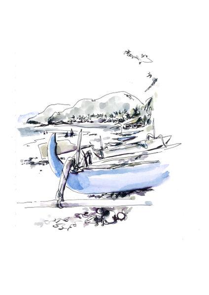 Perahu-candidasa