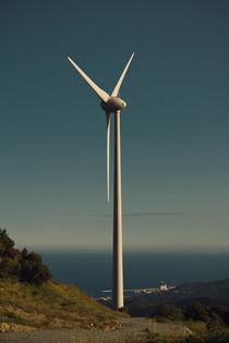 a wind farm by Anatoly Okrachkov