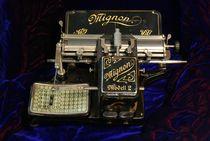 """Schreibmaschine """"Mignon"""" von ir-md"""