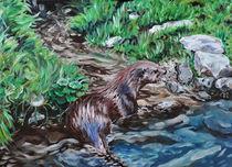 Fischotter by Dorothee Rund