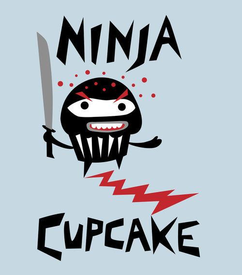 Ninja-cupcake