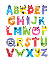 Alphabet Monsters von Andi Bird