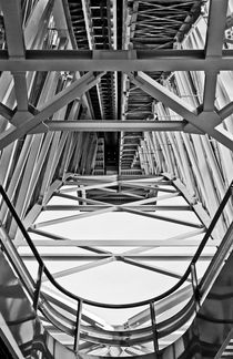 Metal Architecture B/W by axvo-fotografie