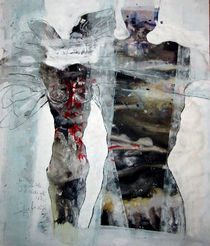 Zerfranster Engel (nach Rilke) by Edgar Piel
