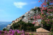 Malerische Küstenstraße von Amalfi von Katrin Lantzsch