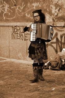 Angel of music by Mihai Cîmpan