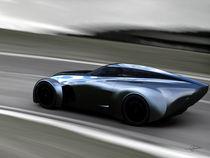 Aero Ace Concept Car (Track Side) by Gabriel Tam