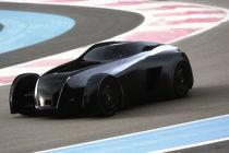 Aero Ace Concept Car (Track Front) von Gabriel Tam