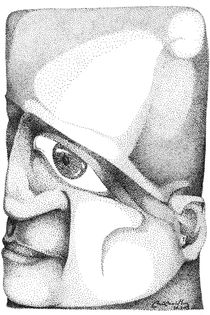 rectangle human face... by Rui Rodrigues de Sousa