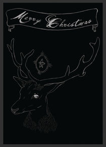 Deer Christmas von Nicole Volbeda