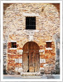 Cahors doorway 1 von Chris Atkinson