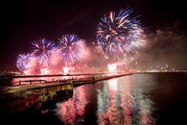4th of July fireworks by Christoph Haberthuer
