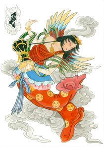 Hagoromo Tennyo by crez
