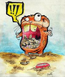 hamster hambre! von Gustavo Monky Urquieta