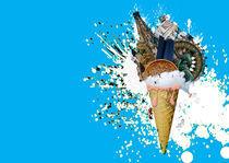 Ice Cream from Vienna  von Agnieszka  Grodzka
