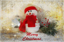 Frohe Weihnachten an alle meine Artflakes Freunde! von Rozalia Toth