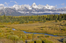 Snake River Valley in autumn von Barbara Magnuson & Larry Kimball