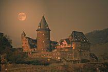 Abendstimmung am Rhein  by Elke Balzen