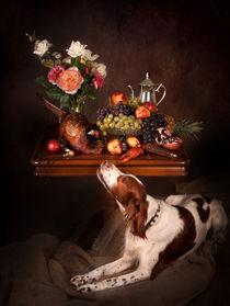 Still life with a dog... by Tanya Kozlovsky