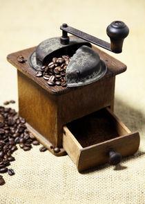 Kaffeemühle - Bild für die Küche