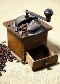 Kaffeemühle - Bild für die Küche by Falko Follert