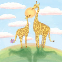 Giraffe by Connie Deng