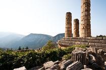 Der Tempel des Apollo by Eduard Warkentin