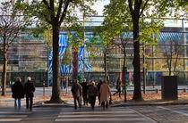 Paris Street Scene von Louise Heusinkveld