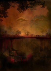 waterfall by Aleksandra Janowska