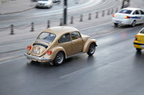VW Maggiolino on Galata's Bridge by dem