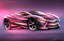 Neoxis supercar concept by Nikola Novak