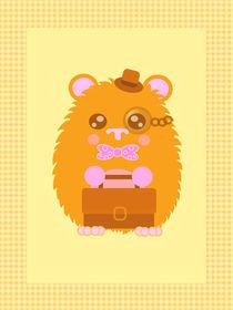 kawaii hamster by Heli-Maarja Varvas