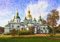 St Sophia's Cathredral, Kiev, Ukraine by Graham Prentice