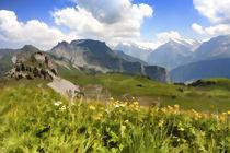 Swiss high Alps landscape von Graham Prentice